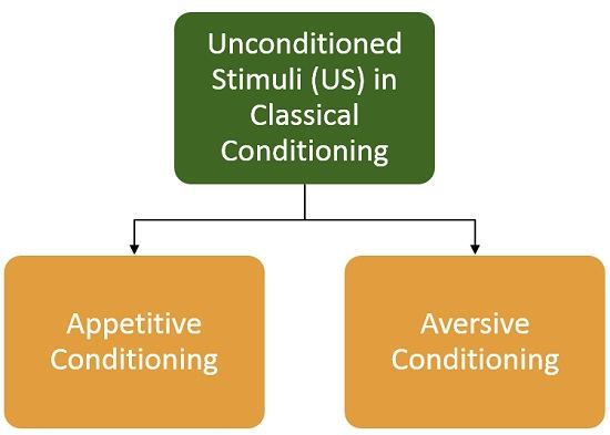 types-of-unconditioned-stimuli-inclassical-conditioning